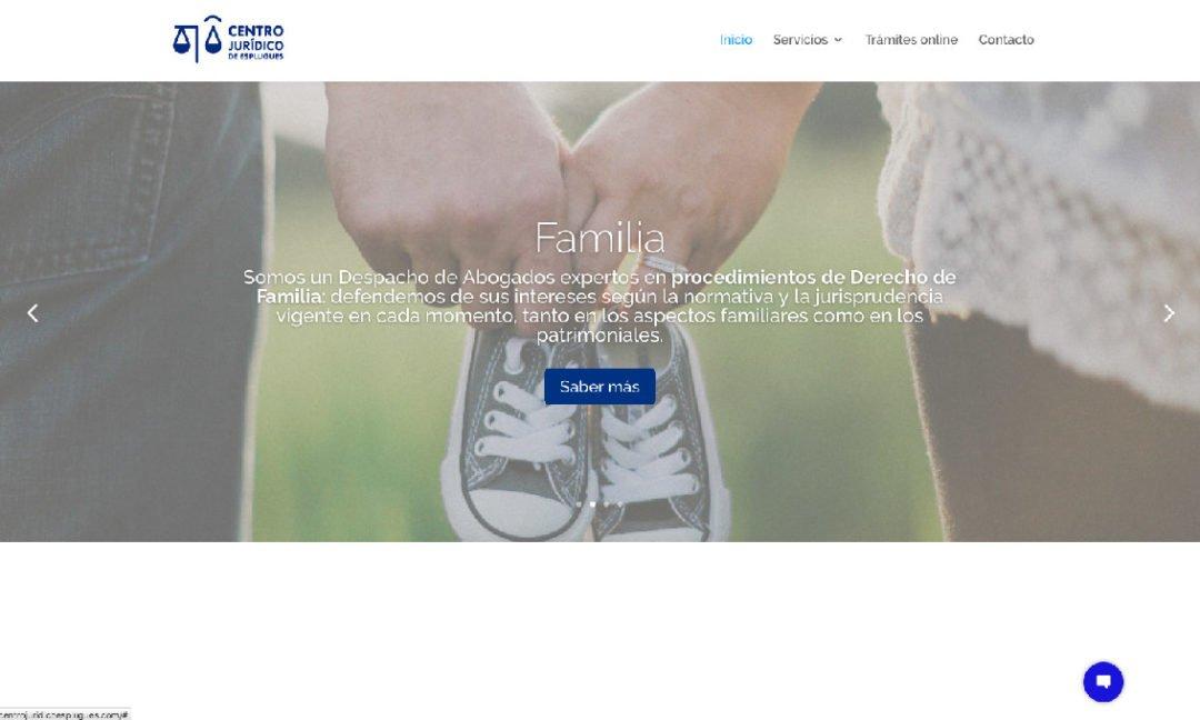 Web Centro Jurídico Esplugues