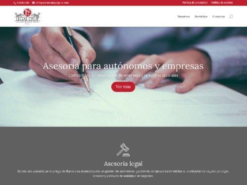 Web Asesoría Legal Grup